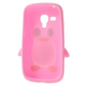 Silikonový TUČŃÁK pouzdro na Samsung Galaxy S3 mini i8190- světlerůžový - 5