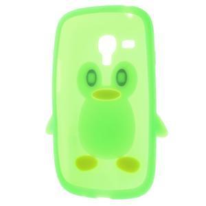 Silikonový TUČŃÁK pouzdro na Samsung Galaxy S3 mini i8190- zelený - 5