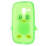 Silikonový TUČŃÁK pouzdro na Samsung Galaxy S3 mini i8190- zelený - 5/7