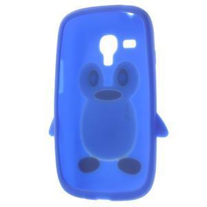 Silikonový TUČŃÁK pouzdro na Samsung Galaxy S3 mini i8190- modrý - 5