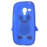 Silikonový TUČŃÁK pouzdro na Samsung Galaxy S3 mini i8190- modrý - 5/7