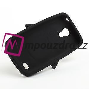 Silikon 3D TUČŇÁK pro Samsung Galaxy S4 mini i9190- černý - 5
