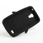 Silikon 3D TUČŇÁK pro Samsung Galaxy S4 mini i9190- černý - 5/5