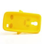Silikon 3D TUČŇÁK pro Samsung Galaxy S4 mini i9190- žlutý - 5/5