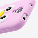 Silikonový Tučňák pouzdro pro Samsung Galaxy S4 i9500- světle-růžový - 5/7