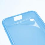 Gelové S-line pouzdro na Nokia Lumia 620- modré - 5/5