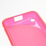 Gelové S-line pouzdro na Nokia Lumia 620- růžové - 5/5