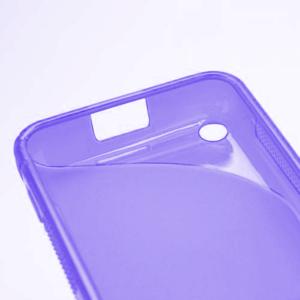 Gelové S-line pouzdro na Nokia Lumia 620- fialové - 5