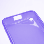 Gelové S-line pouzdro na Nokia Lumia 620- fialové - 5/5