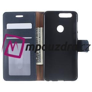 Clothy peněženkové pouzdro na mobil Honor 8 - tmavěmodré - 5