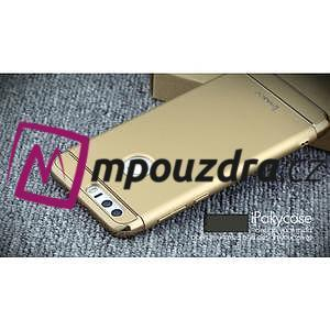 Luxusní odolný obal 3v1 na mobil Honor 8 - zlatý - 5