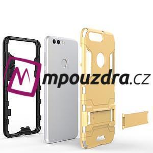 Outdoor odolný obal na mobil Honor 8 - světlemodrý - 5