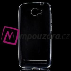Superslim gelový obal na Huawei Y3 II - transparentní - 5