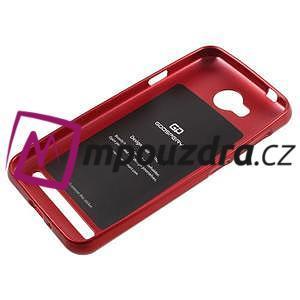 Luxusní gelový obal na mobil Huawei Y3 II - červený - 5