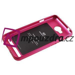 Luxusní gelový obal na mobil Huawei Y3 II - rose - 5
