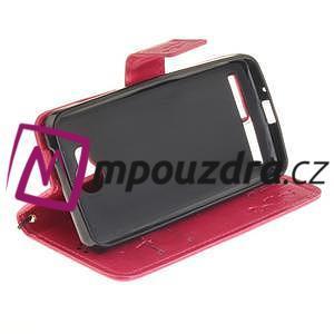 Dandelion PU kožené pouzdro na mobil Huawei Y3 II - rose - 5
