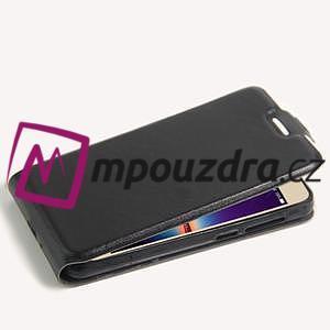 Flipové PU kožené pouzdro na Huawei Y3 II - černé - 5