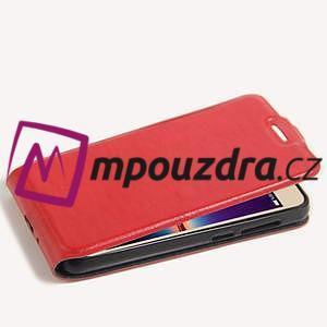 Flipové PU kožené pouzdro na Huawei Y3 II - červené - 5