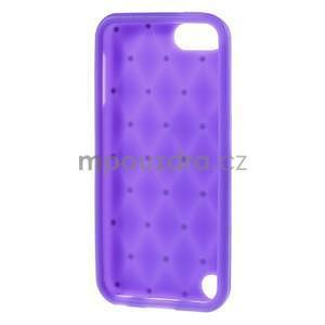 Brite silikonový obal s kamínky iPod Touch 6 / Touch 5 - fialový - 5