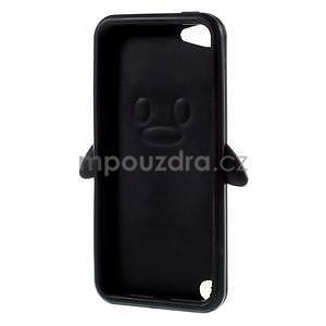 Penguin silikonový obal na iPod Touch 6 / iPod Touch 5 - černý - 5