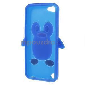 Penguin silikonový obal na iPod Touch 6 / iPod Touch 5 - tmavě modrý - 5