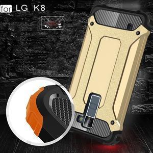Armory odolný obal na mobil LG K8 - zlatý - 5