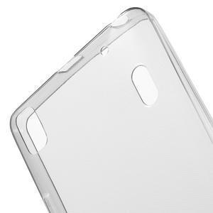 Ultra tenký slim obal na Lenovo A7000 / K3 Note - šedý - 5