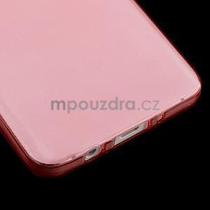 Slim obal na Samsung Galaxy A3 - červené - 5