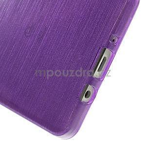 Broušený gelový obal Samsung Galaxy A5 - fialový - 5