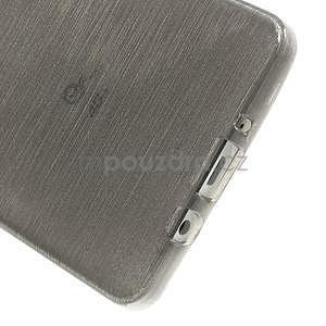 Broušený gelový obal Samsung Galaxy A5 - šedý - 5