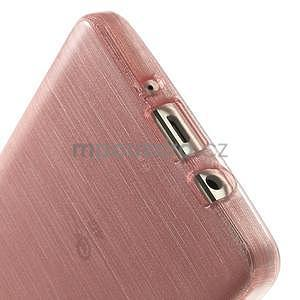 Broušený gelový obal Samsung Galaxy A5 - růžový - 5