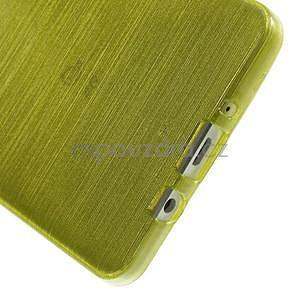 Broušený gelový obal Samsung Galaxy A5 - zelený - 5