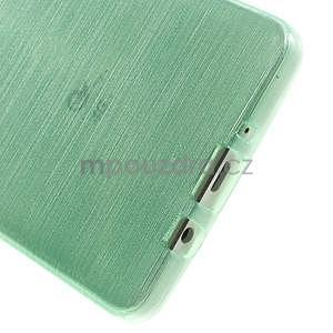 Broušený gelový obal Samsung Galaxy A5 - cyan - 5