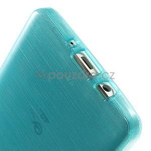 Broušený gelový obal Samsung Galaxy A5 - tyrkysový - 5