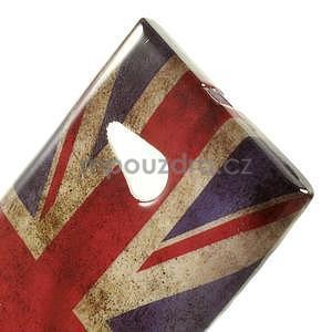 Gelové pouzdro na Nokia Lumia 730 a Lumia 735 - UK vlajka - 5