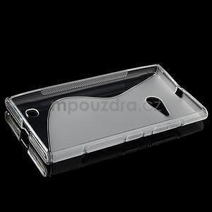 Gelový s-line obal na Nokia Lumia 730 a Lumia 735 - transparentní - 5