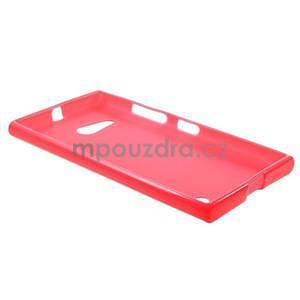 Gelový obal na Nokia Lumia 730 a Lumia 735 - rose - 5