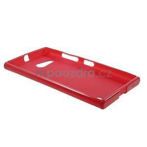 Gelový obal na Nokia Lumia 730 a Lumia 735 - červený - 5