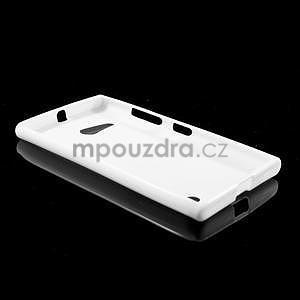 Gelový obal na Nokia Lumia 730 a Lumia 735 - bílý - 5