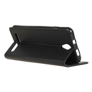 Standy PU kožené pouzdro na Acer Liquid Z6 - černé - 5