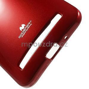 Gelový obal na Asus Zenfone 2 ZE551ML -  tmavě červený - 5