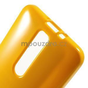 Gelový obal na Asus Zenfone 2 ZE551ML - žlutý - 5