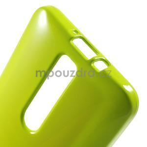 Gelový obal na Asus Zenfone 2 ZE551ML - zelený - 5