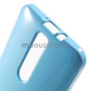 Gelový obal na Asus Zenfone 2 ZE551ML - světle modrý - 5