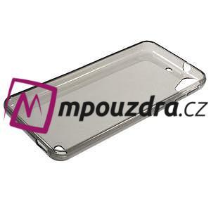 Šedý ultratenký gelový obal na HTC Desire 530 a Desire 630 - 5