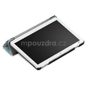 Emotive polohovatelné pouzdro na Huawei MediaPad M3 Lite 10 - mandala - 5
