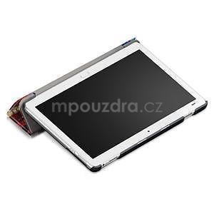 Emotive polohovatelné pouzdro na Huawei MediaPad M3 Lite 10 - malovaný les - 5
