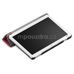 Emotive polohovatelné pouzdro na Huawei MediaPad M3 Lite 10 - barevné čtverečky - 5