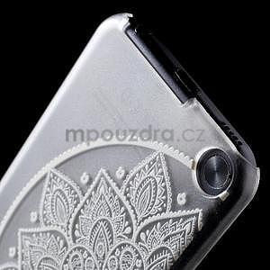 Plastový obal pro iPod Touch 5 - půlkruh mandala - 5