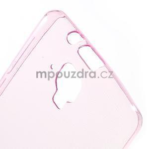 Gelový slim obal pro Lenovo A536 - rose - 5